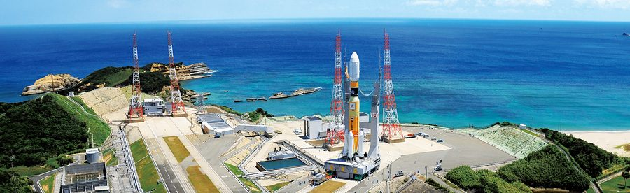 Japan Aerospace Exploration Agency JAXA NASA Mitsubishi Heavy Industries H-IIB rocket photo credit JAXA posted on SpaceFlight Insider