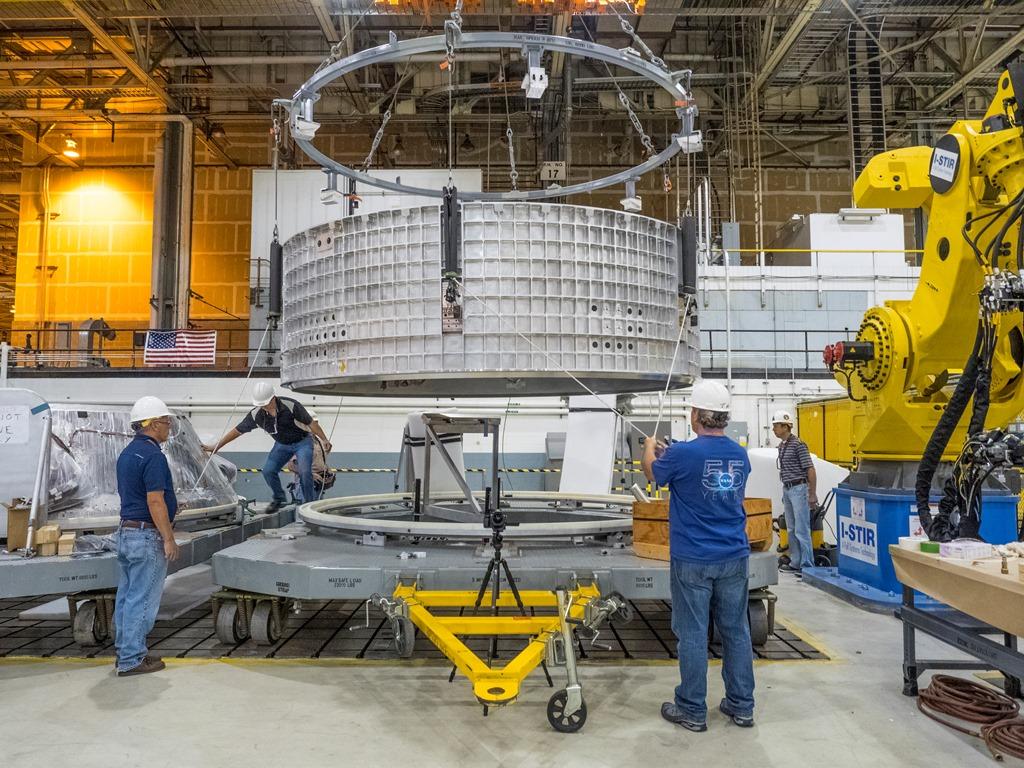 Orion Pathfinder Coming Together In Preparation For Em 1