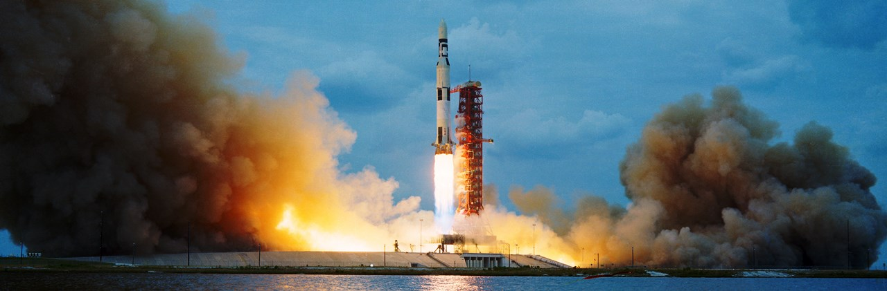 NASA image of unmanned Skylab Saturn V rocket launch posted on SpaceFlight Insider