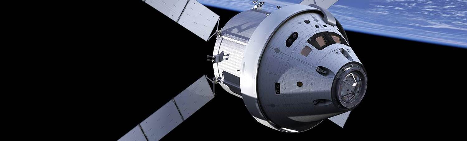 Orion spacecraft with ATV service module NASA image posted on SpaceFlight Insider