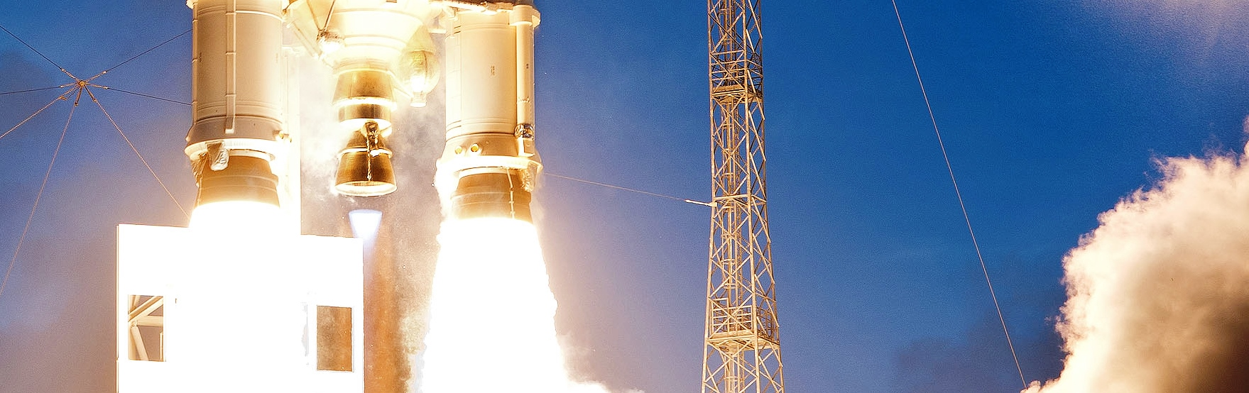 Ariane 5 rocket lifts off From Kourou, French Guiana Arianespace image posted on SpaceFlight Insider