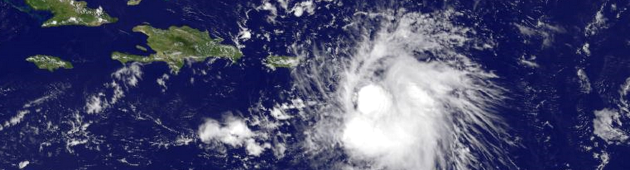 Tropical Storm Erika NOAA image posted on SpaceFlight Insider