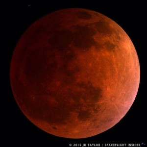 Havest super moon solar lunar eclipse photo credit JD Taylor SpaceFlight Insider