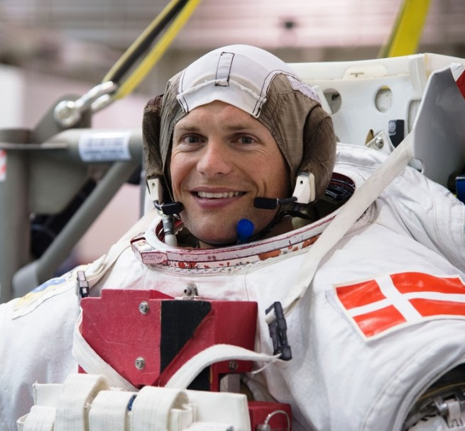 Andreas Mogensen astronaut European Space Agency photo posted on SpaceFlight Insider