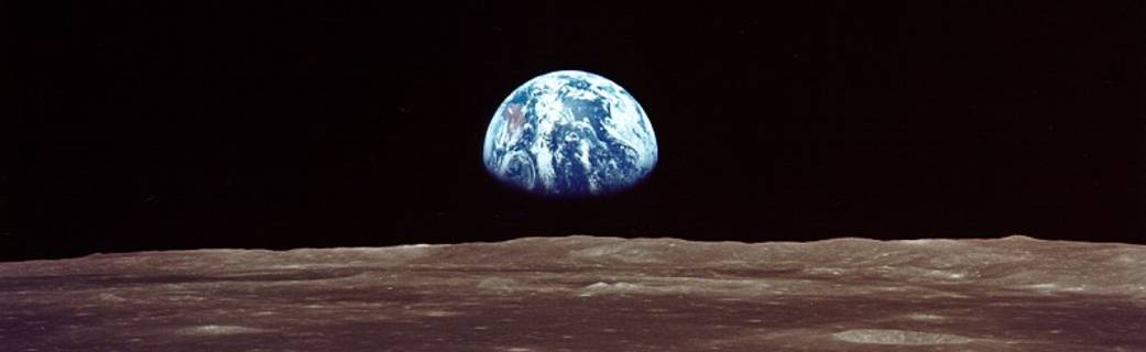 Apollo 11 Earthrise NASA photo posted on SpaceFlight Insider