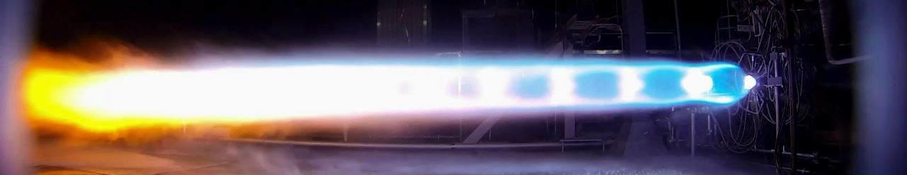 BE-4 rocket engine subscale test Blue Origin image posted on SpaceFlight Insider
