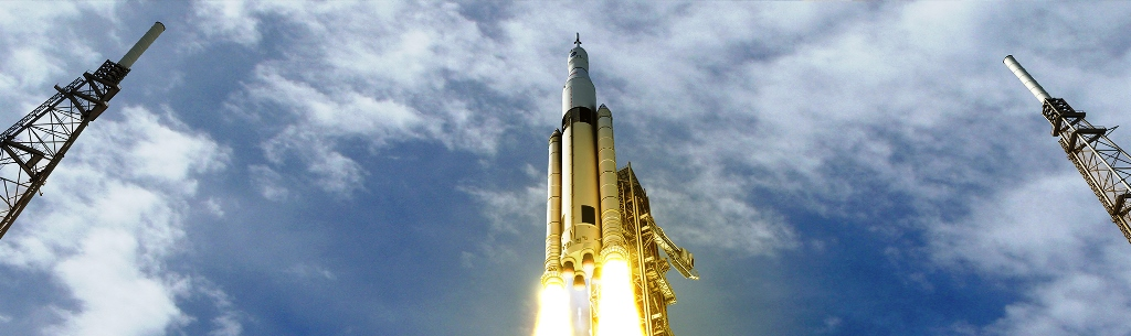 NASA Space Launch System SLS test article NASA photo a posted on SpaceFlight Insider - Copy