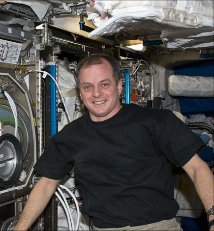 NASA photo of astronaut T.J. Creamer on the International Space Station posted on SpaceFlight Insider