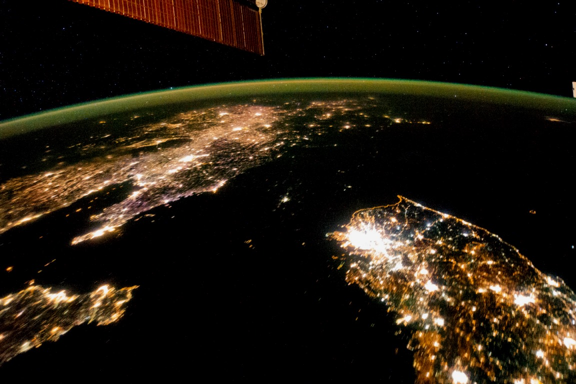NASA.gov North Korea as seen from the International Space Station posted on SpaceFlight Insider