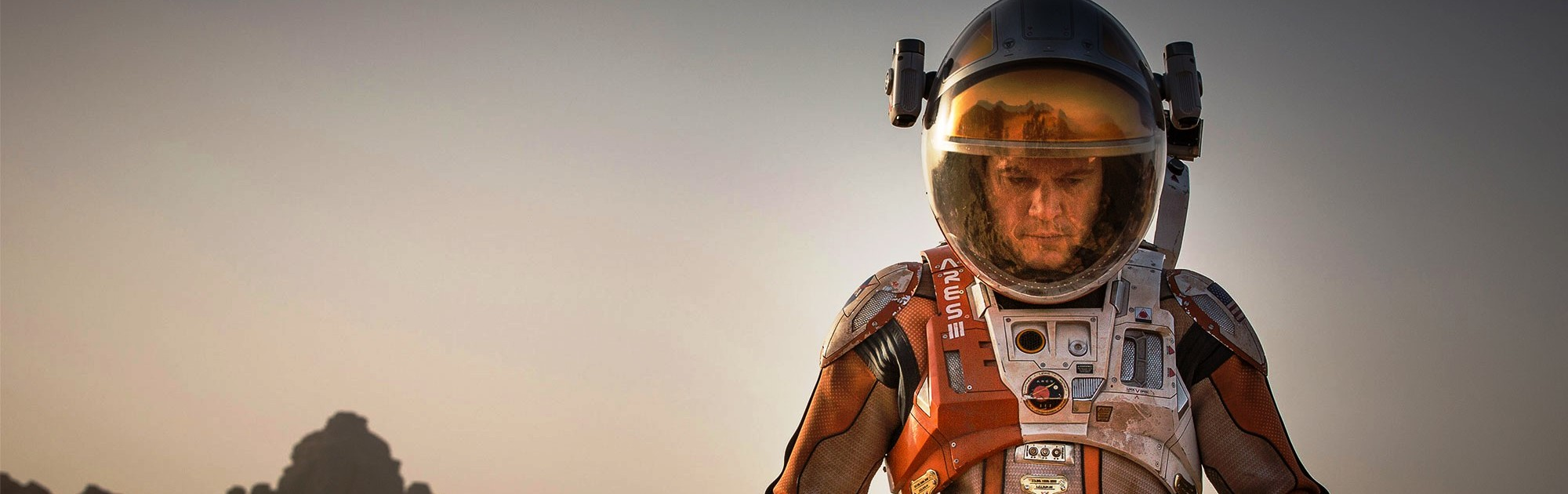 The Martian Matt Damon 20th Century Fox image posted on SpaceFlight Insider
