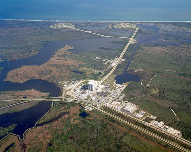 Kennedy Space Center Launch Complex 39 A B NASA photo posted on SpaceFlight Insider