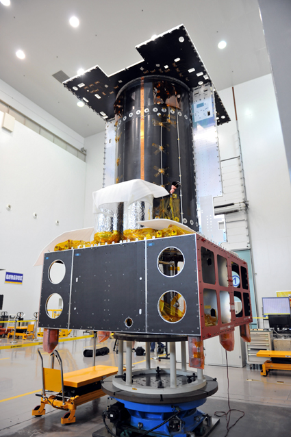 APStar-9 satellite.