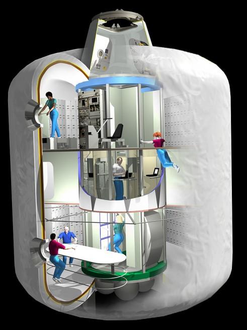 Transhab cutaway