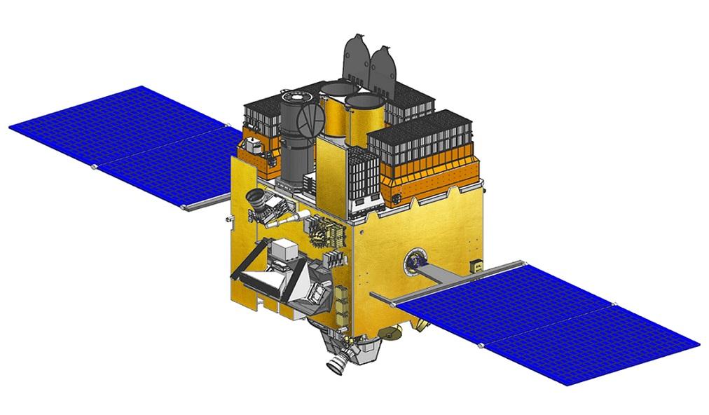 Artist's rendering of Astrosat.