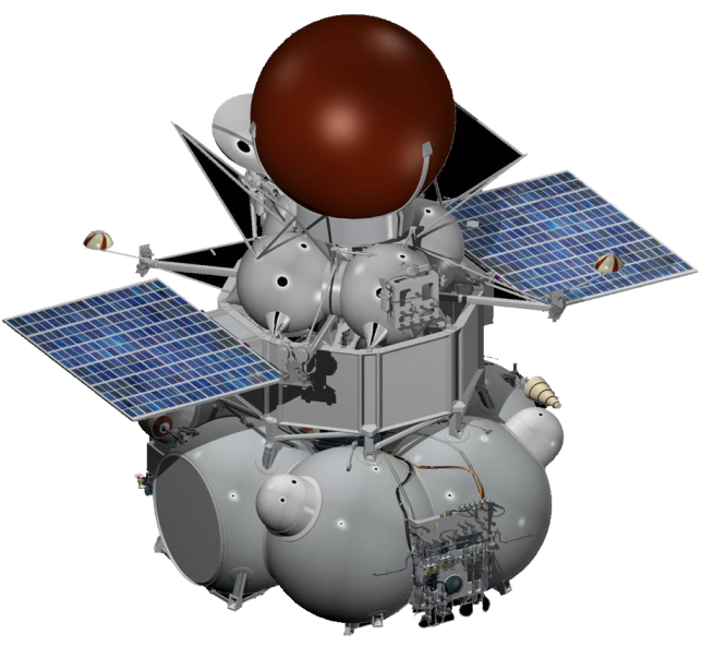 Artist's concept of the Venera-D probe.