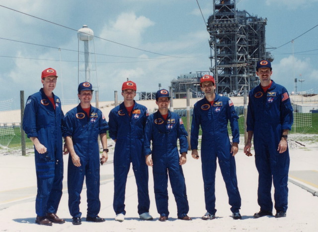STS-68 near the blast bunker