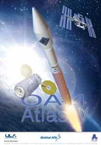 United Launch Alliance logo for OA-4 mission ULA image posted on SpaceFlight Insider