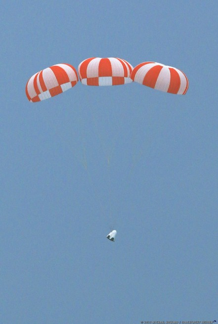 SpaceX Crew Dragon Pad Abort Test photo credit Michael Howard / SpaceFlight Insider