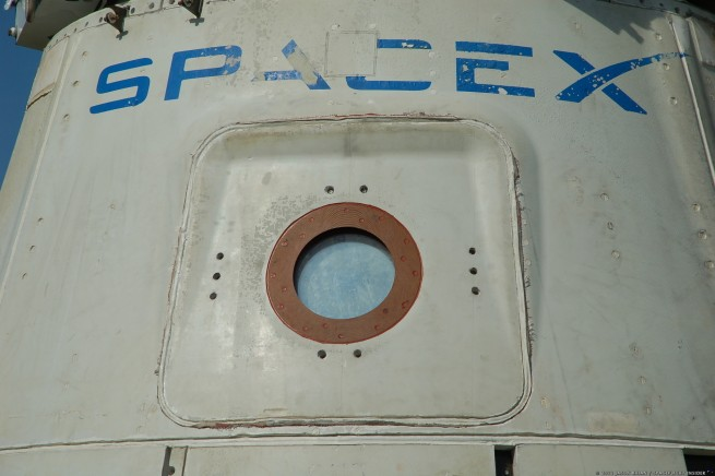SpaceX Dragon spacecraft at Cape Canaveral Air Force Station in Florida. Photo Credit: Jason Rhian / SpaceFlight Insider