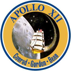Apollo 12 mission logo NASA image posted on SpaceFlight Insider