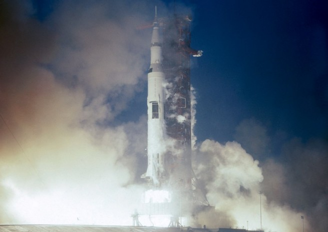 Apollo_12_launches_from_Kennedy_Space_Center NASA photo posted on SpaceFlight Insider