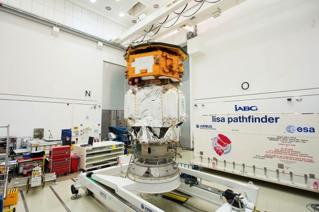 LISA_Pathfinder_launch_composite_at_IABG_s_space_test_centre LISA Pathfinder has a planned scientific mission lasting some 180 days. European Space Agency image posted on SpaceFlight Insider