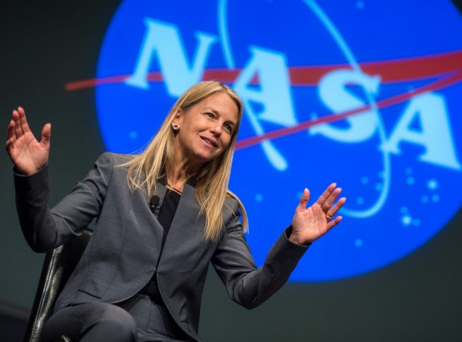 NASA Deputy Administrator Dava Newman photo credit Bill Ingalls posted on SpaceFlight Insider