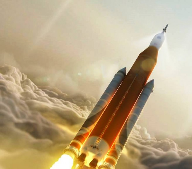 NASA Space Launch System posted on SpaceFlight Insider