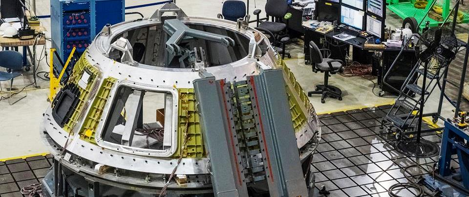 Orion Pressure Vessel Lockheed Martin image posted on SpaceFlight Insider