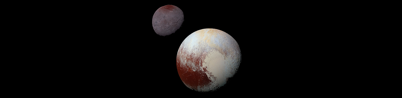 Styx Pluto S Moon: Image Montages Show One Full Day On Pluto And Charon