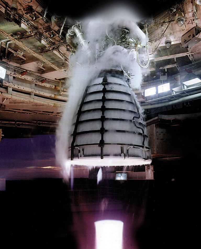 space shuttle engines firing - photo #13