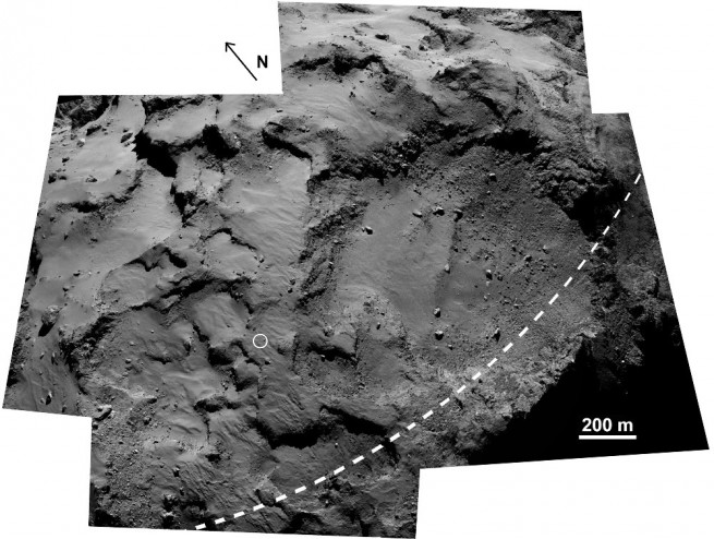 Rosetta_OSIRIS_Agilkia_LaForgia_Fig2_1000w ESA image posted on SpaceFlight Insider