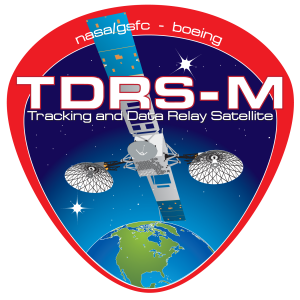 TDRS-M logo NASA image posted on SpaceFlight Insider
