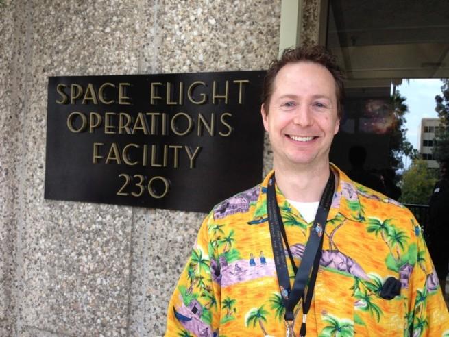Gallentine at JPL