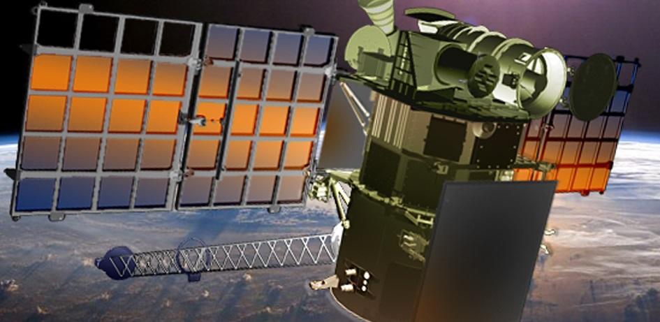 Artist's rendering of the DSCOVR spacecraft.
