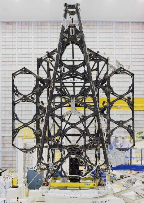 "Engineers successfully completed two deployments for the James Webb Space Telescope's ""wings"" or side portions of the backplane structure that fold up."