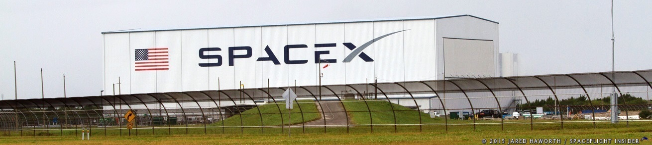 SpaceX facilities at Kennedy Space Center Launch Complex 39A photo credit Jared Haworth / SpaceFlight Insider
