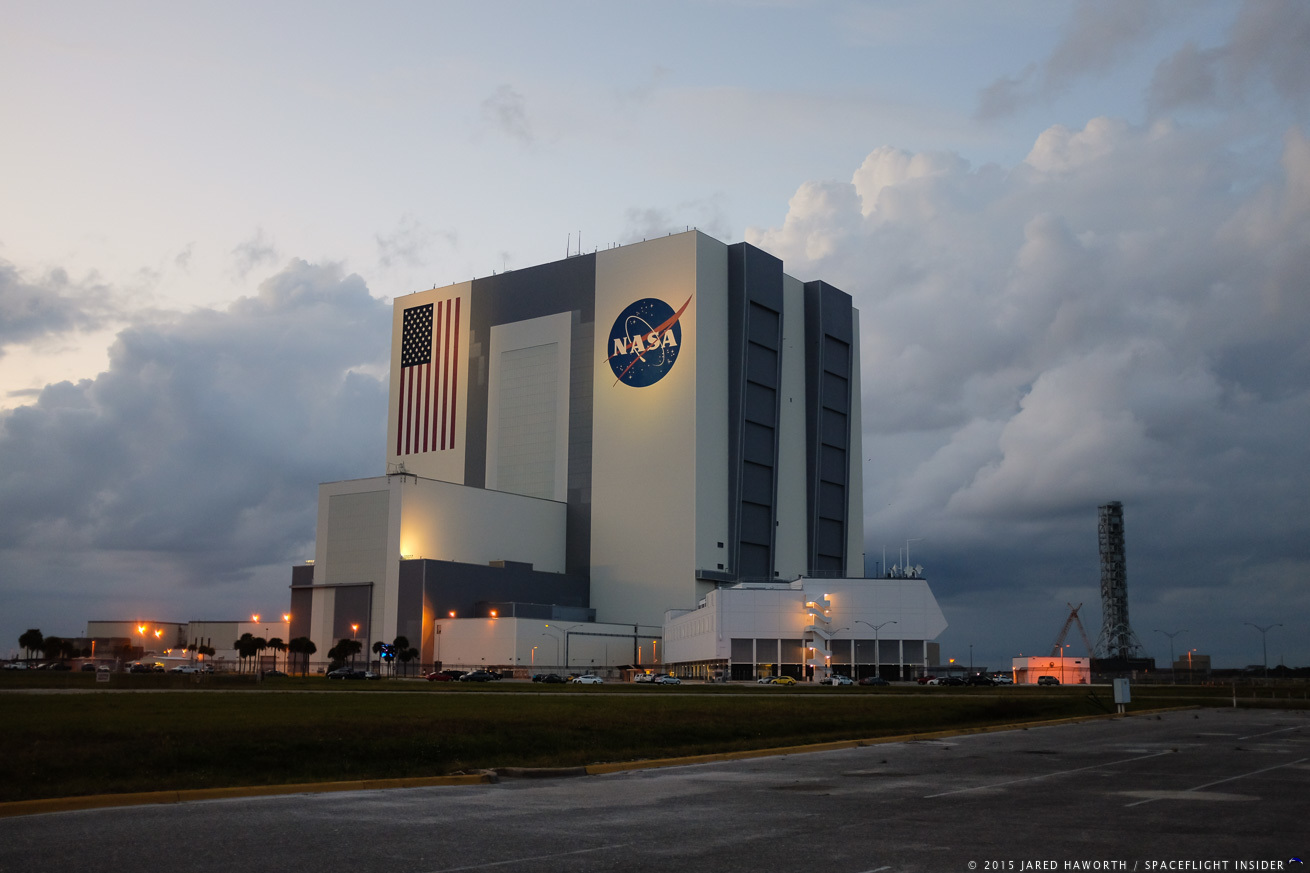 The Vehicle Assembly Building at NASA's Kennedy Space Center in Florida. Photo Credit: Jared Haworth / SpaceFlight Insider
