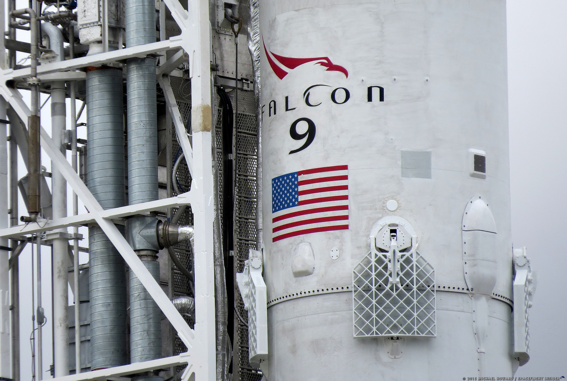 SpaceX Falcon 9 v1.2 full thrust Orbcomm OG2 photo credit Michael Howard SpaceFlight Insider