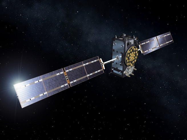 Artist's view of a Galileo Full Operational Capability (FOC) satellite.