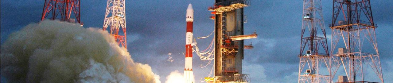 PSLV rocket launches from Satish Dhawan Space Centre ISRO image posted on SpaceFlight Insider