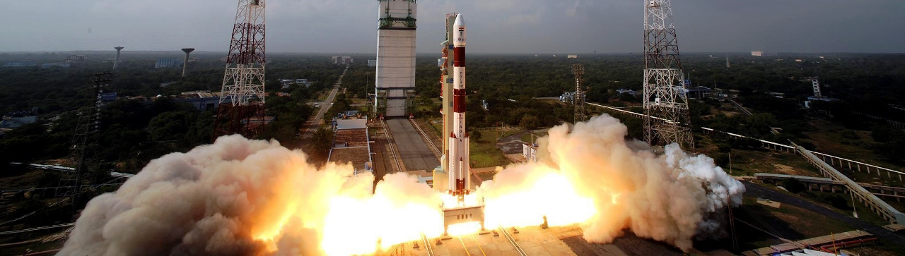 The ISRO's Mars Orbiter Mission lifts off from the Satish Dhawan Space Centre ISRO photo posted on SpaceFlight Insider