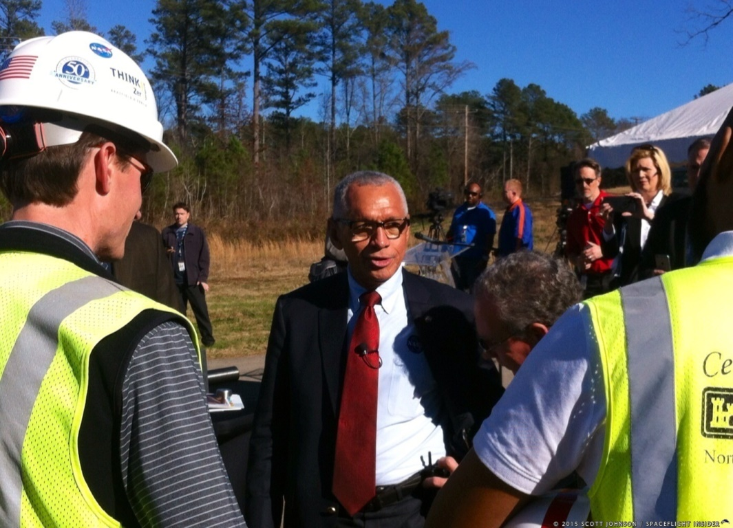 NASA Administrator Charles Bolden at Marshall Space Flight Center in Huntsville, Alabama photo credit Scott Johnson SpaceFlight Insider