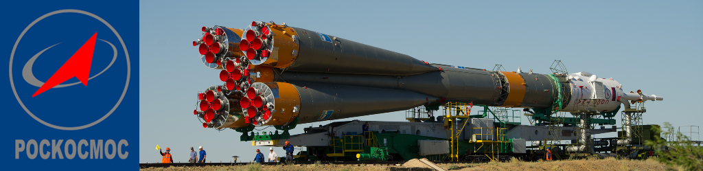Russian Federal Space Agency Roscosmos Soyuz rocket Baikonur Cosmodrone NASA and Roscosmos images posted on SpaceFlight Insider