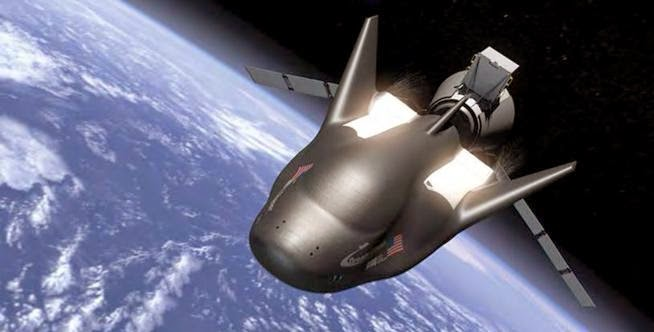 The cargo version of Sierra Nevada Corporation's Dream Chaser spacecraft was selected to proceed under the second phase of NASA's Commercial Resupply Services contract. Image Credit: SNC