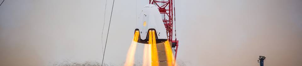 SpaceX has released amazing video of a propulsive hover test that the company's Dragon 2 spacecraft carried out in November of 2015. Photo Credit: SpaceX