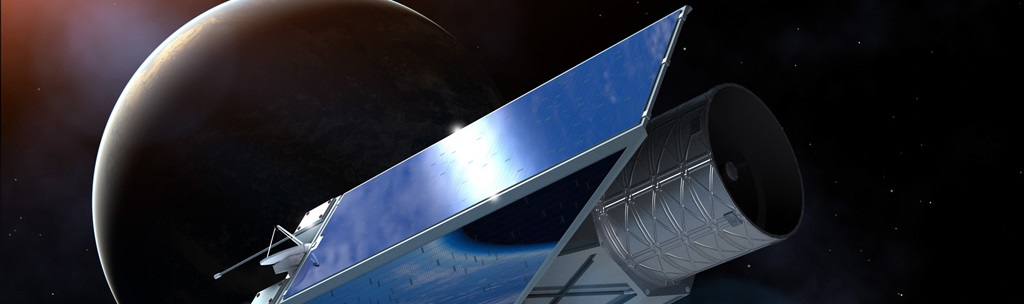 Artist's impression of Euclid. Image Credit: ESA