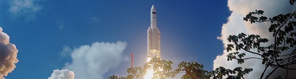 Launch-of-Ariane-5-rocket-from-the-spaceport-at-Kourou-French-Guiana-Arianespace-photo-posted-on-SpaceFlight-Insider - Copy