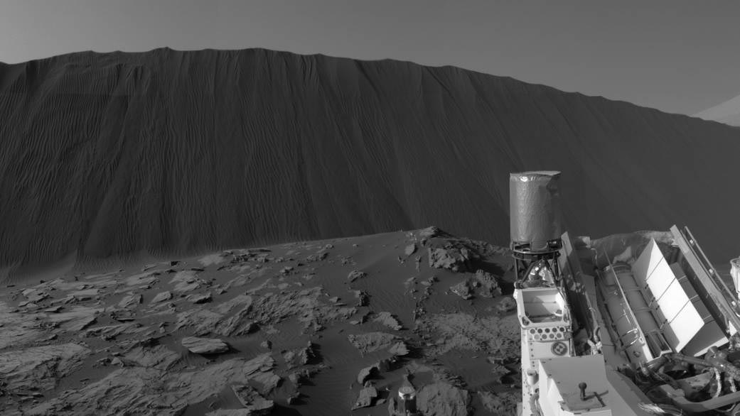 Curiosity Captures 360-Degree Panorama From Martian Dune