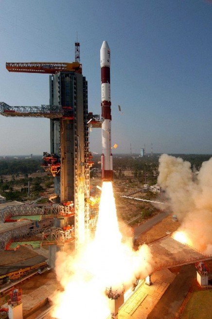 PSLV-CA_1 launch Indian Space Research Launch Organisation photo posted on SpaceFlight Insider